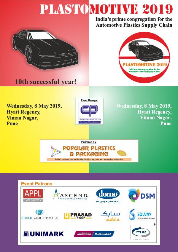 Plastomotive 2019 - 8 May 2019, Pune