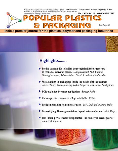 Popular Plastics & Packaging November 2020 edition